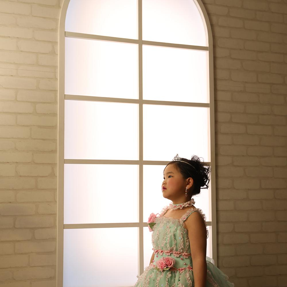 七五三 女の子 ドレス写真