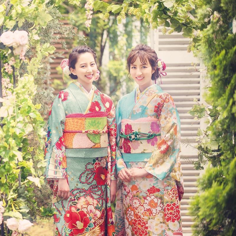 kimono princess_KP-8104(左)、KP-8103(右)