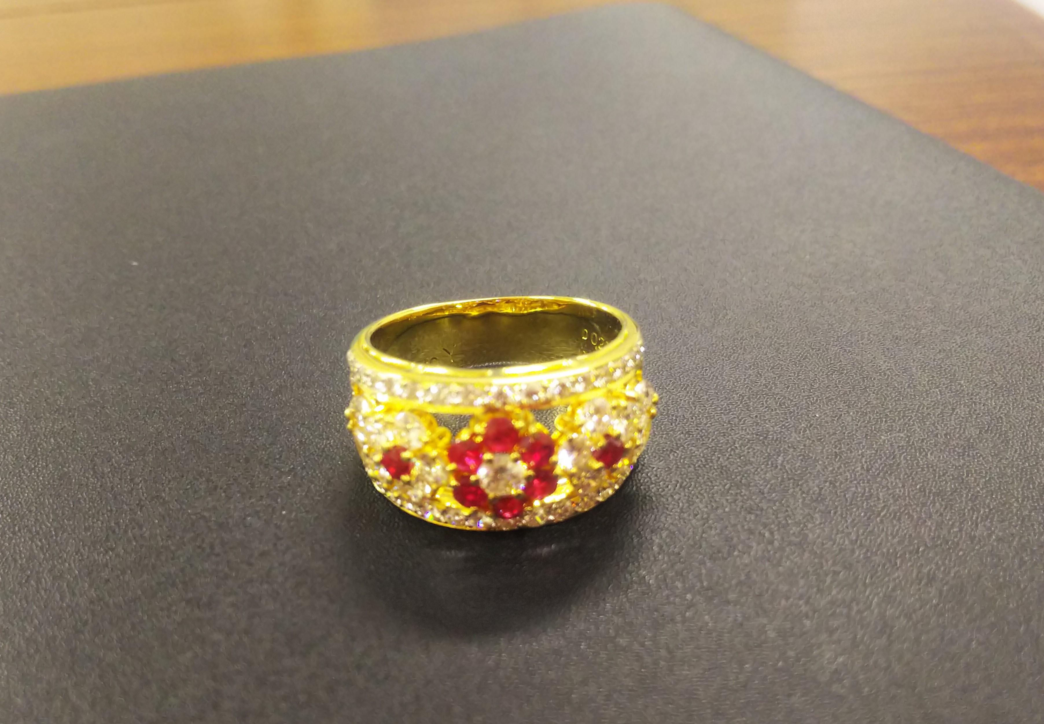 ルビーの指輪♪