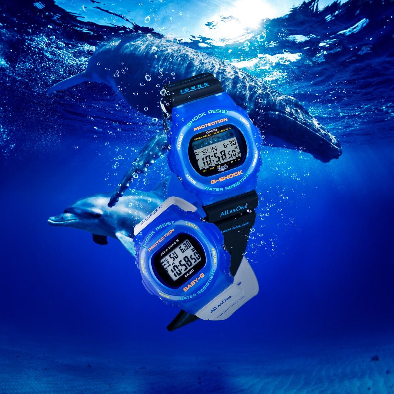 【G-SHOCK、BABY-G新作】Love The Sea And The Earth
