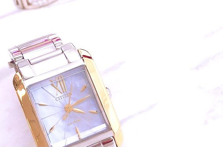 大人女子には欠かせないオシャレな腕時計citizen L