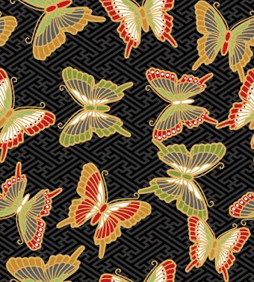 蝶々の柄、着物に多い理由