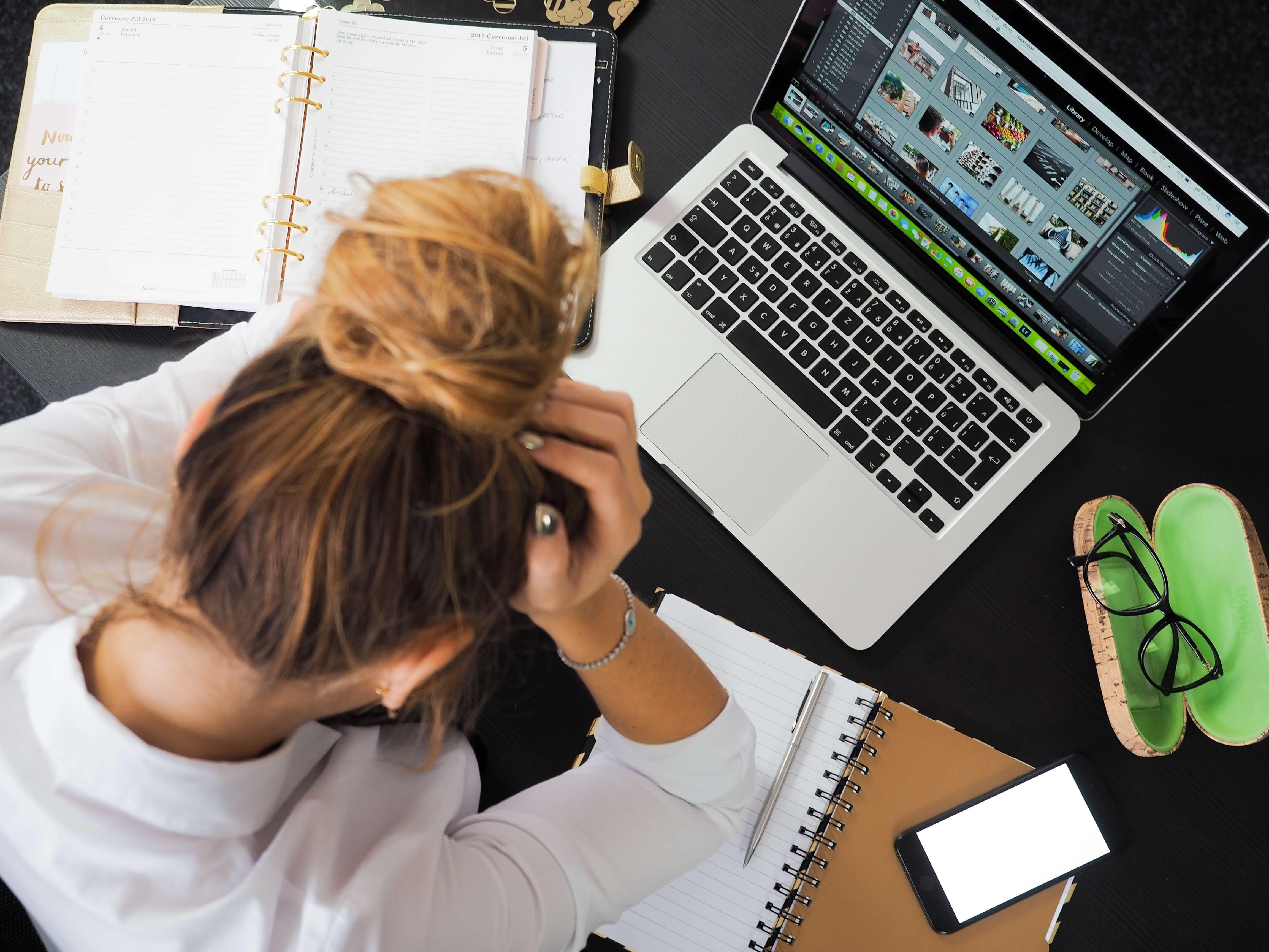 大きな失敗や挫折を経験する