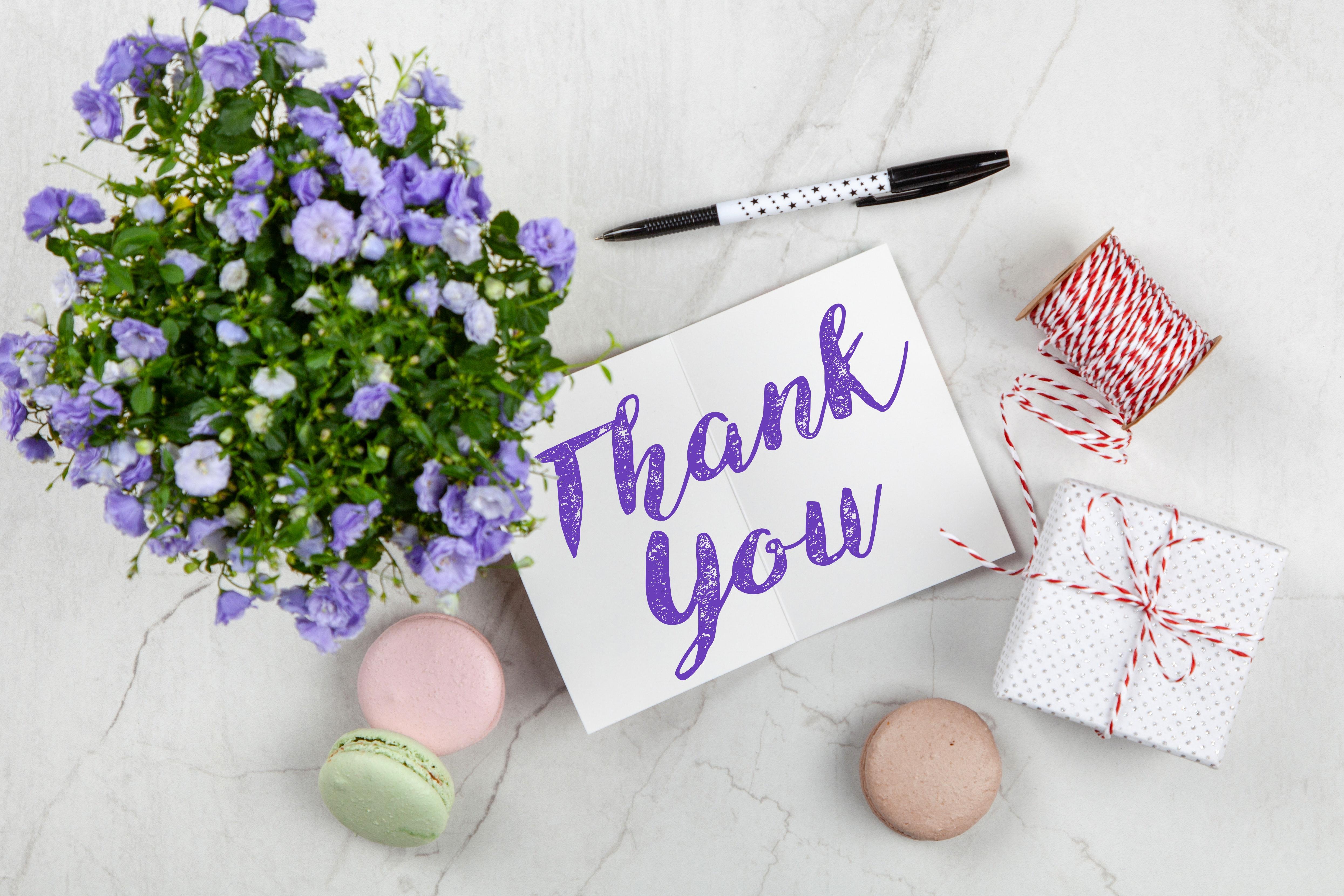 「ありがとう」とたくさん言う