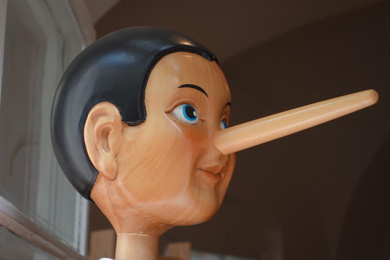 嘘をつく人の心理とは