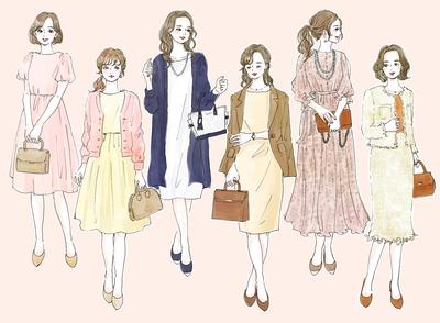 季節・年代別! お見合いで好印象を与える女性の服装【イラストで解説】