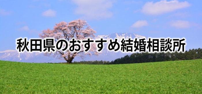 【2019】秋田でおすすめの結婚相談所&婚活情報まとめ