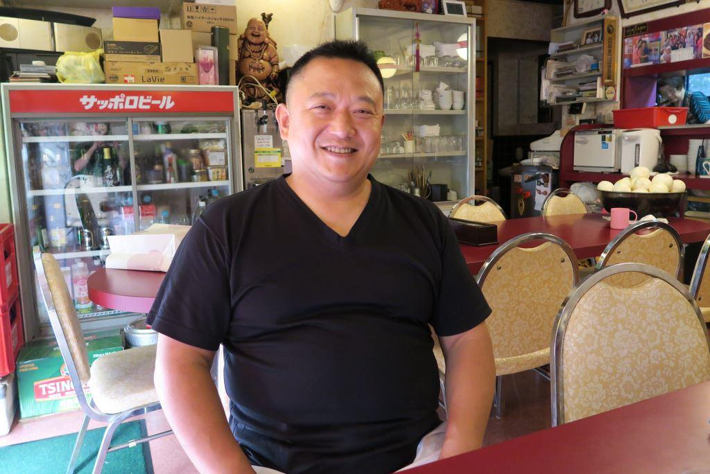異味香の店主山田さん