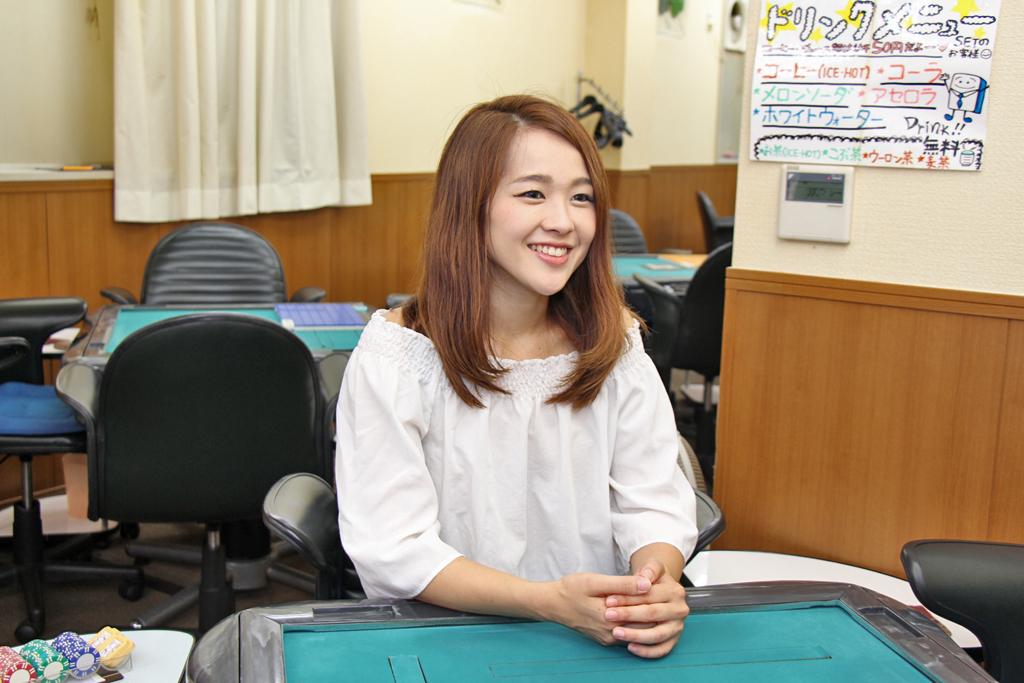 笑顔の鈴木さん