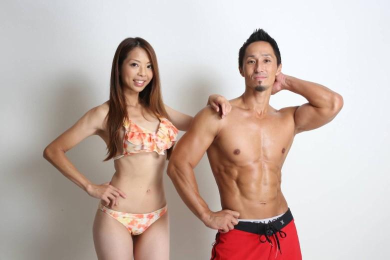 植田さんと妻の理恵さん