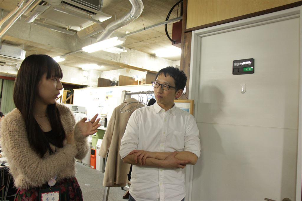 船底さんと斎藤さん