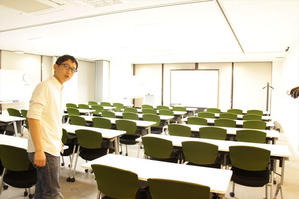 6階の会議室