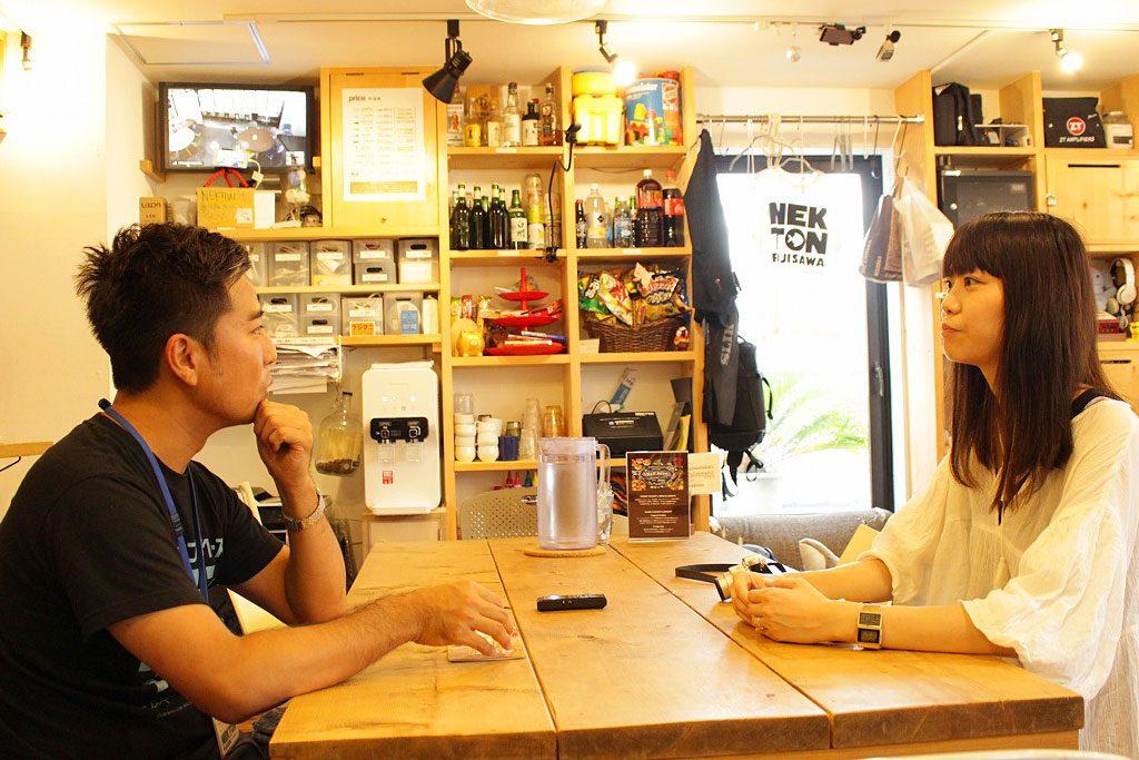三浦さんと井口さん