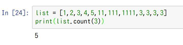 python-list-count