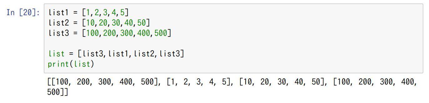 python-list-list