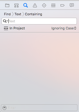 Xcode_Search navigator