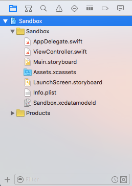Xcode_Project Navigator