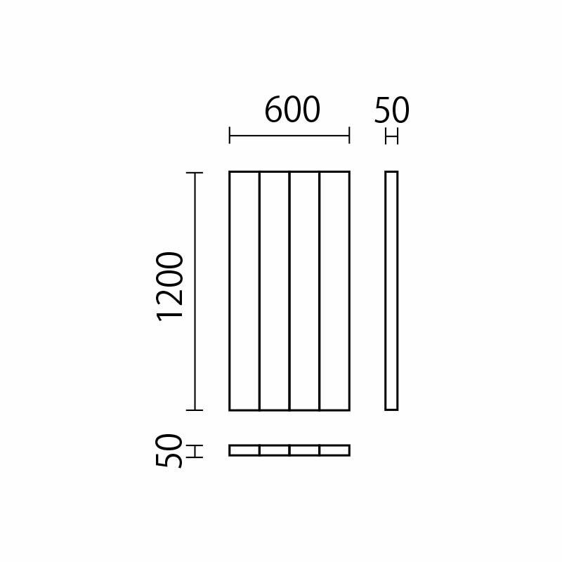 フレキシブルウォールマット(H1200)4本