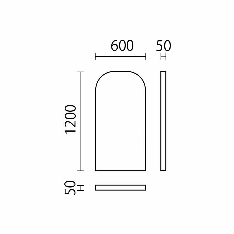 角丸ウォールマットH1200 UHKM-60
