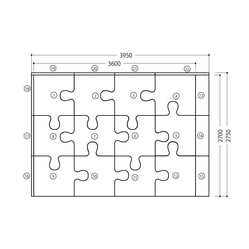 ジグソー/ バンビシリーズ  6畳プランE