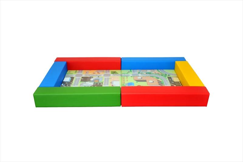 リス セット交通マット 1畳-1 商品画像
