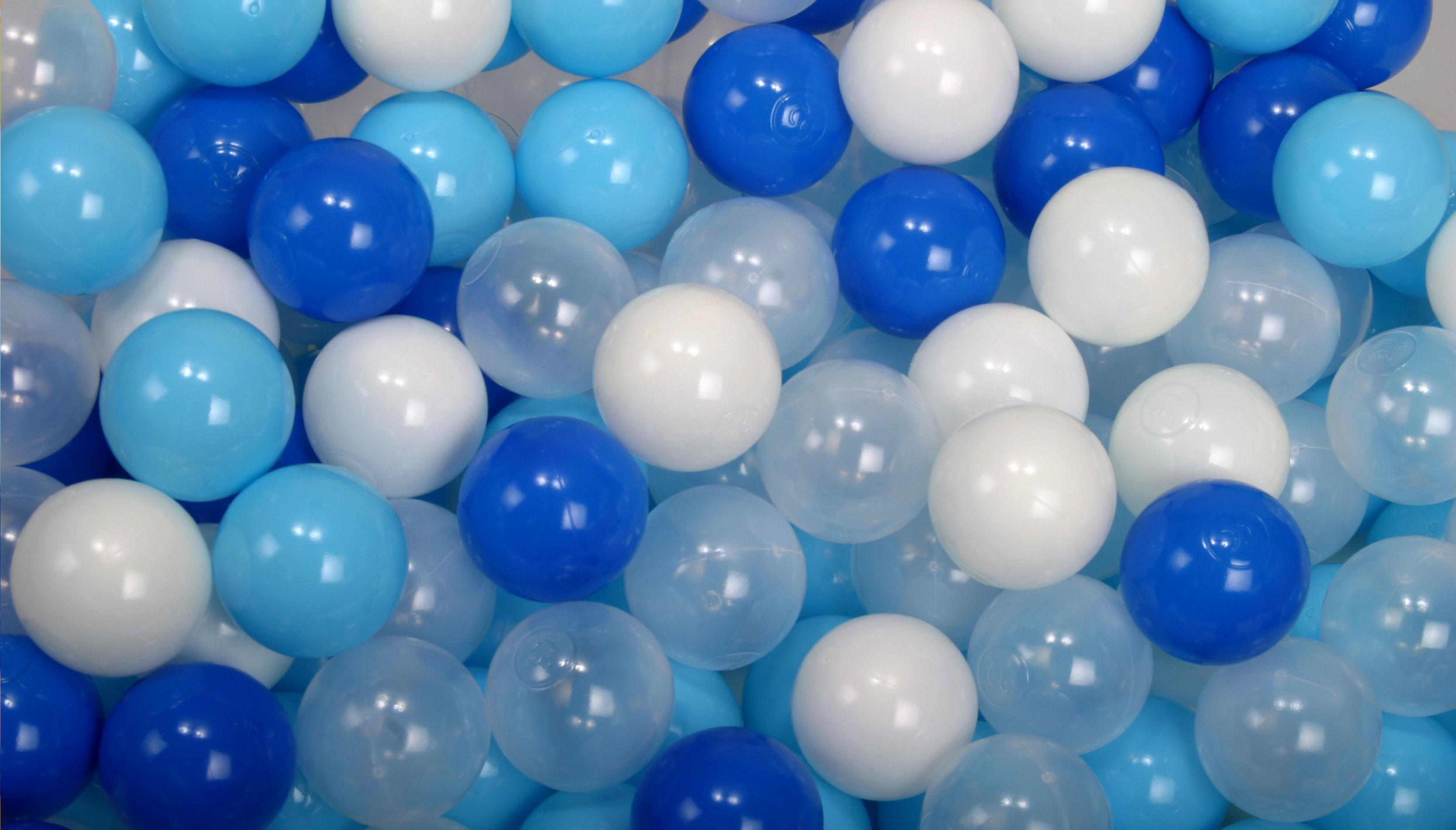 ボールプール用カラーボール 青ミックス