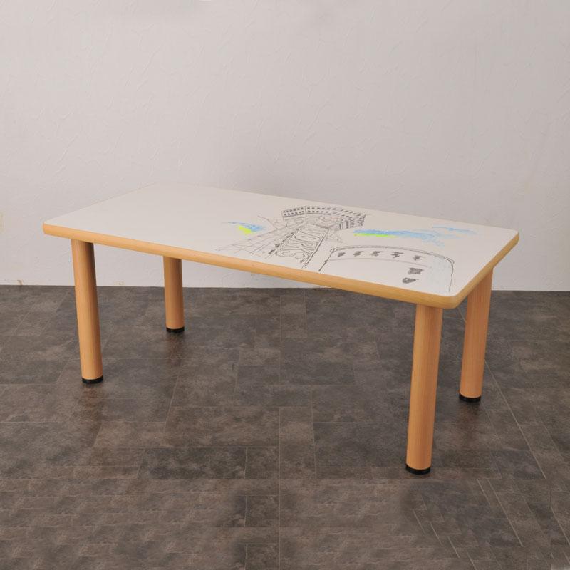 TT-4A 楽がきテーブル 長方形 4本脚付 商品画像