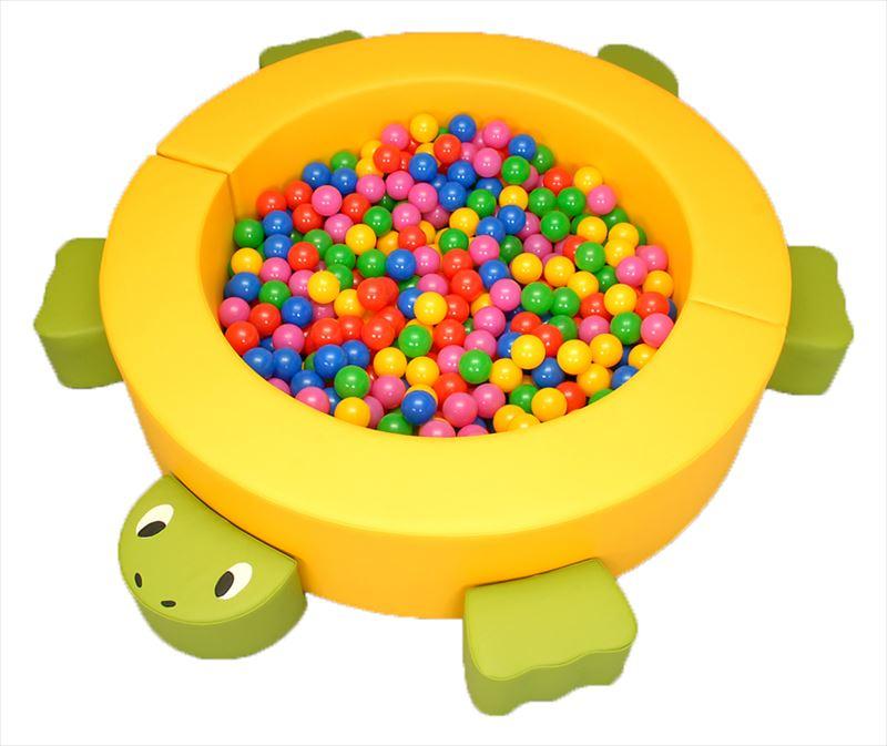 ミニボールプール カメさん セット カラーボール500個付 商品画像