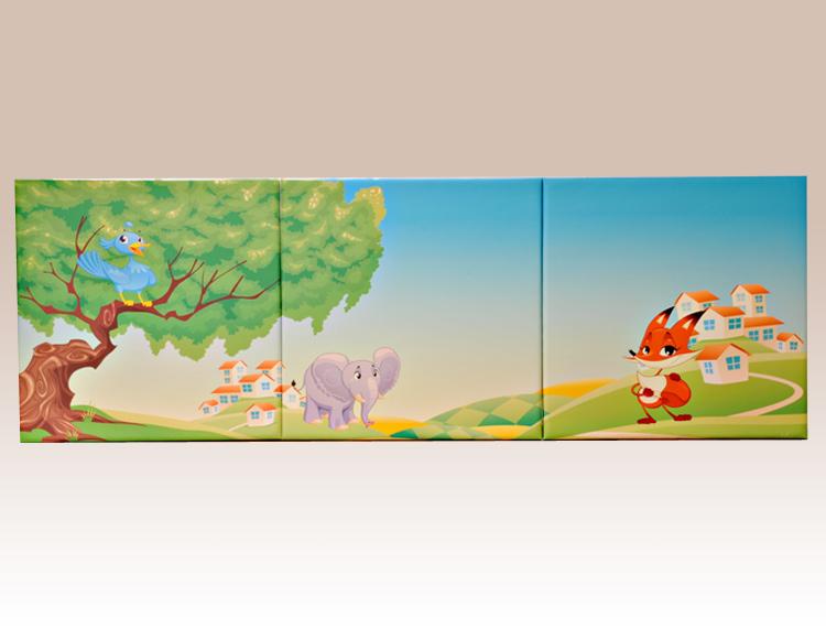 IUM-3 イラスト入りウォールマット 3枚組 セット 商品画像