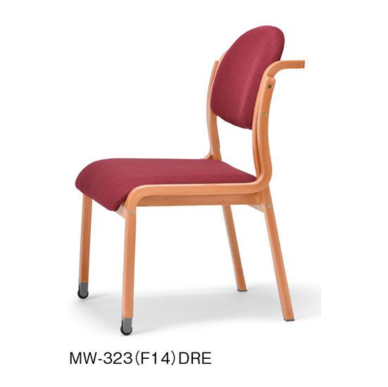 肘なし持ち手付きキャスタータイプMW-323(F14)(V14)商品画像