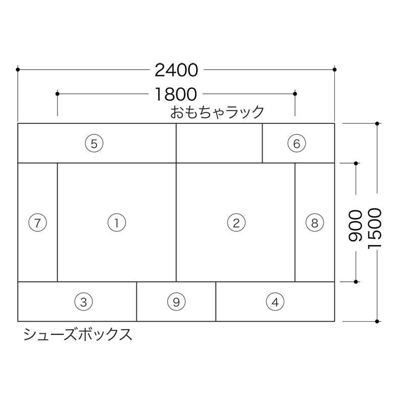 バンビファンシーセット1畳-12