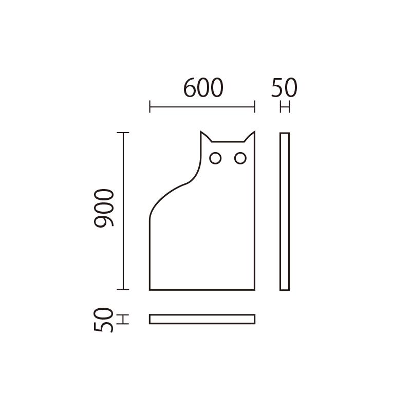 アニマルウォール KDP-2 ネコ