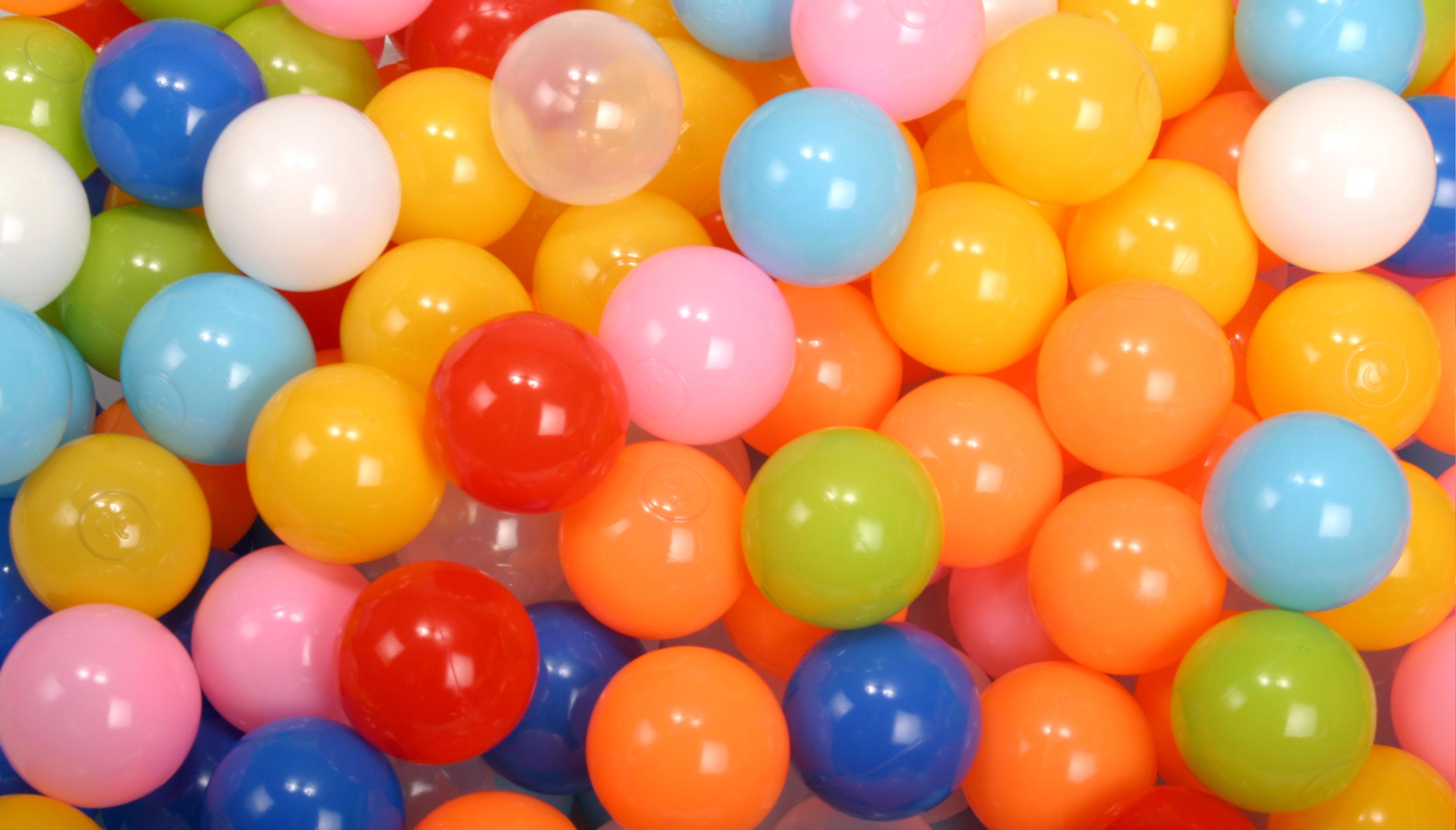 ボールプール用カラーボール ミックス ALL商品画像