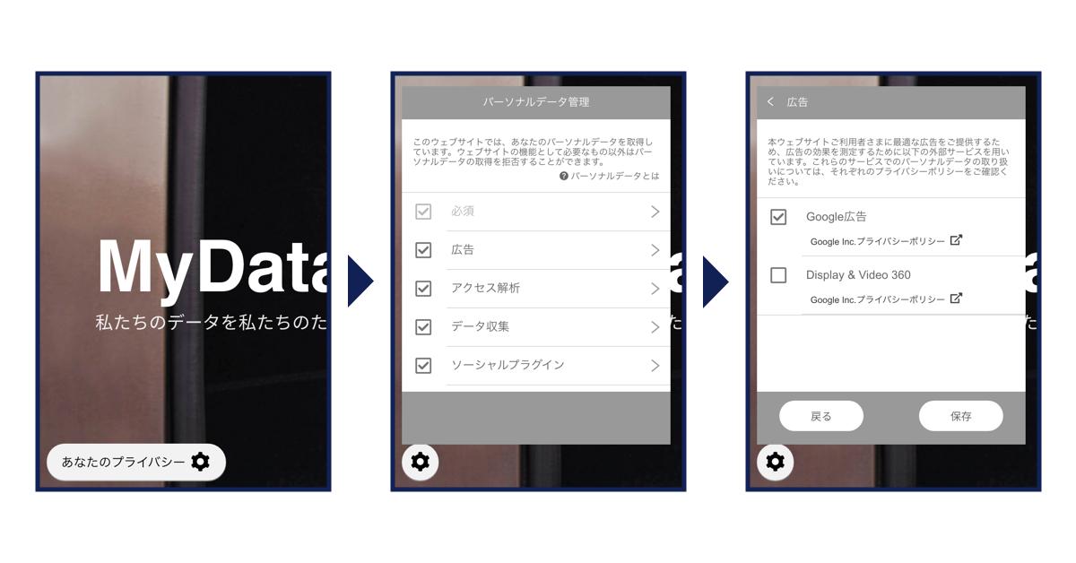 DataTailor社提供の同意管理ツールに技術協力