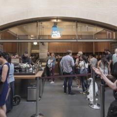 Blue Bottle Coffee Ferry Buildingの店舗写真