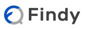 ファインディ株式会社のロゴ