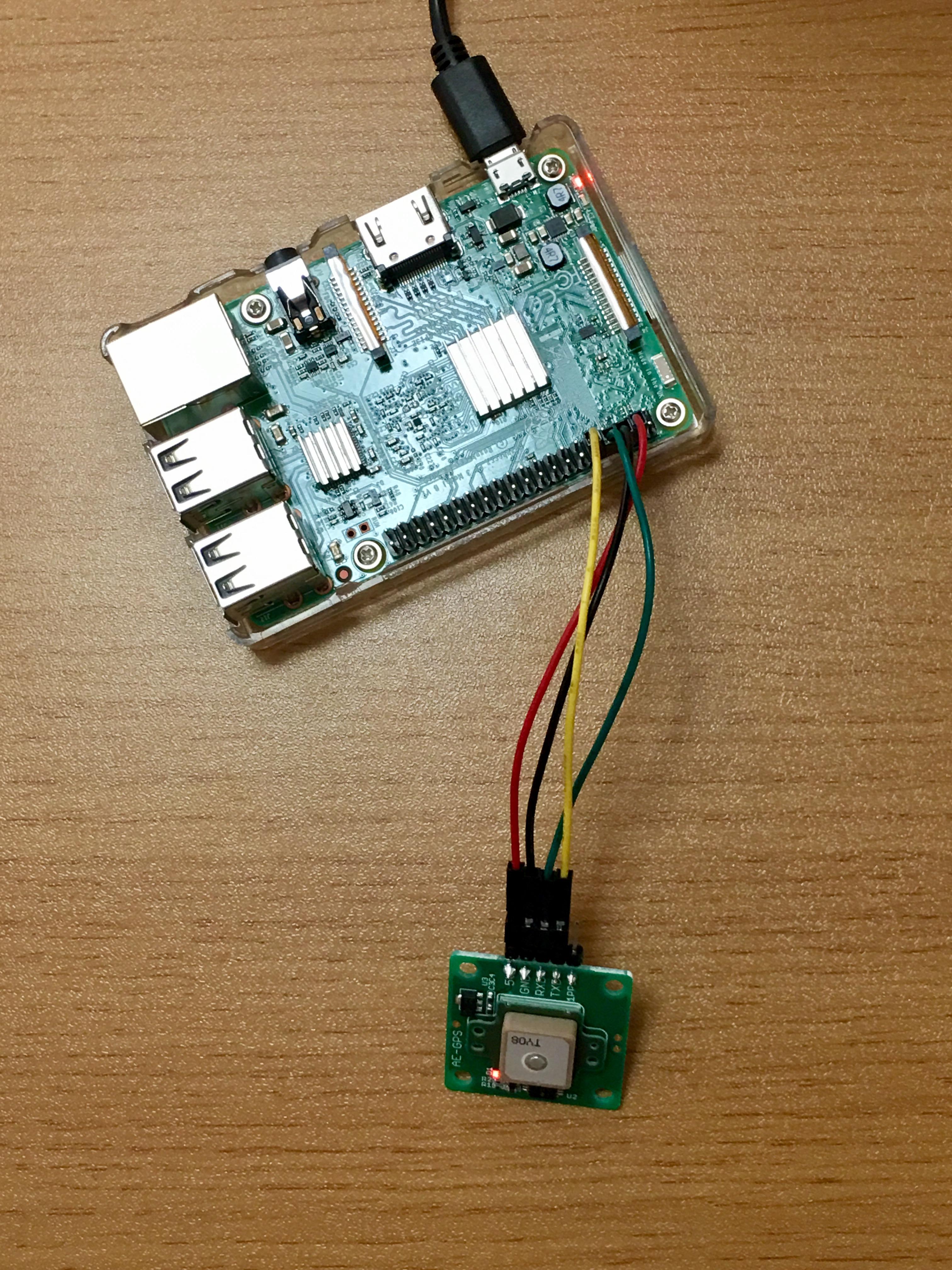 ラズベリーパイ3 SORACOM Ambient でGPSロガーを作る:制作 イー・レンジャー株式会社