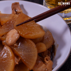 鶏肉と大根の味噌煮