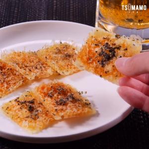 簡単チーズ煎餅のレシピ