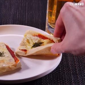 高野豆腐ピザ
