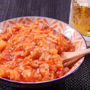 簡単トマトチーズリゾット