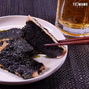 鶏ひき肉と海苔のサンド焼き