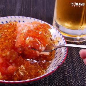 トマトマリネ ゼリー寄せ