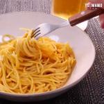 卵とチーズの混ぜるだけパスタ