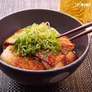 ちくわのかば焼き丼のレシピ