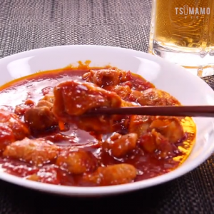 鶏モモのトマト煮