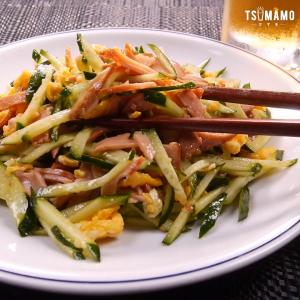 焼豚ときゅうりの中華サラダ