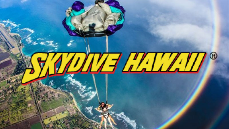 스카이다이브 하와이