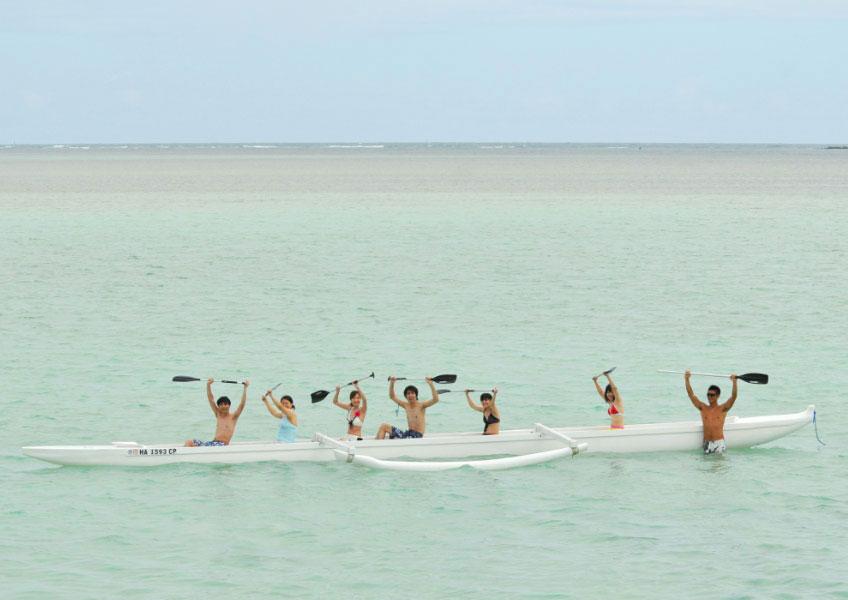 天国の海でシーウォーカー + 8種目 オーシャン・スポーツ