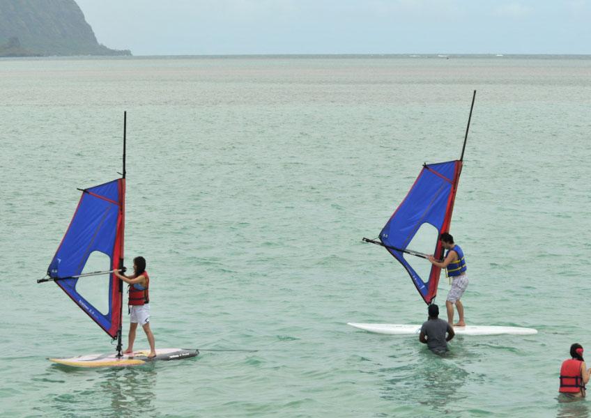 天国の海で8種目 オーシャン・スポーツ